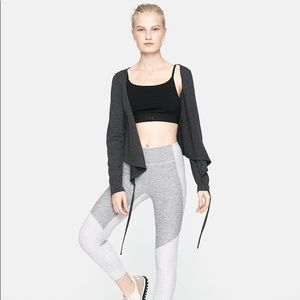 Outdoor Voices Merino Plié Wrap Top